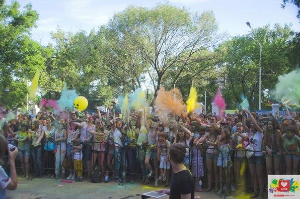 День молодежи в Новошахтинске.
